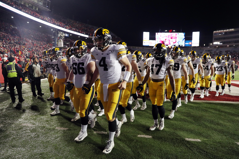 The Iowa Hawkeyes against the Wisconsin Badgers Saturday, November 9, 2019 at Camp Randall Stadium in Madison, Wisc. (Brian Ray/hawkeyesports.com)