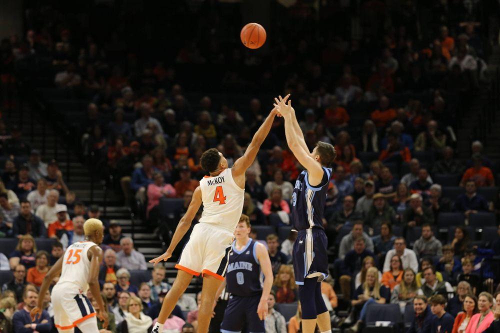 Men's Basketball vs. Maine