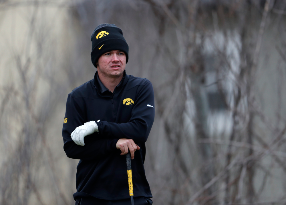 Alex Moorman during the 2018 Hawkeye Invitational  Friday, April 13, 2018 at Finkbine Golf Course. (Brian Ray/hawkeyesports.com)