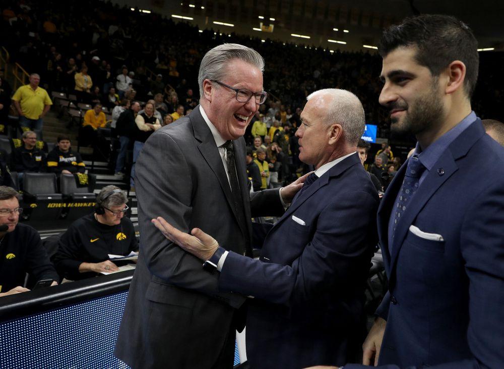 Iowa Hawkeyes head coach Fran McCaffery against Penn State Saturday, February 29, 2020 at Carver-Hawkeye Arena. (Brian Ray/hawkeyesports.com)