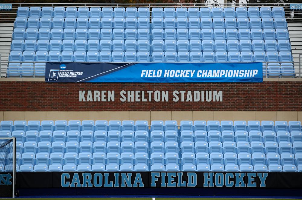 Karen Shelton Stadium in Chapel Hill, N.C. on Thursday, Nov 14, 2019. (Stephen Mally/hawkeyesports.com)