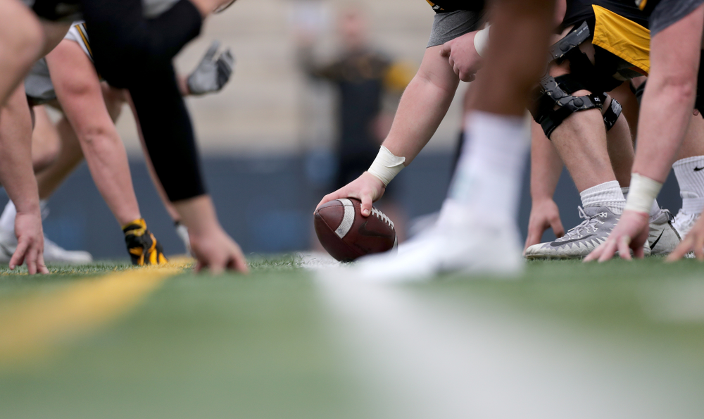 The Iowa Hawkeyes during practice Sunday, December 22, 2019 at Mesa College in San Diego. (Brian Ray/hawkeyesports.com)