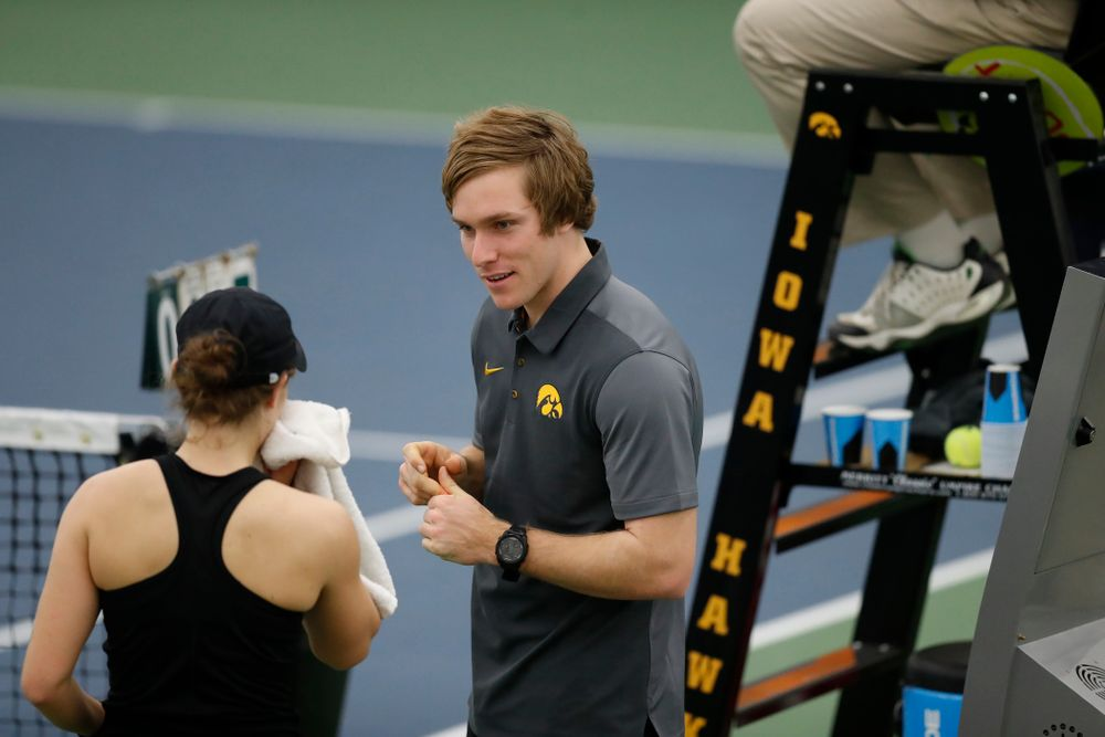 Assistant Coach Daniel Leitner