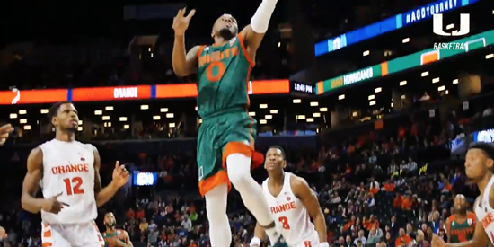 Miami vs. Syracuse Cinematic Highlight | ACC Tournament | 3.8.17