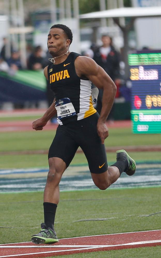 Antwon James -- triple jump