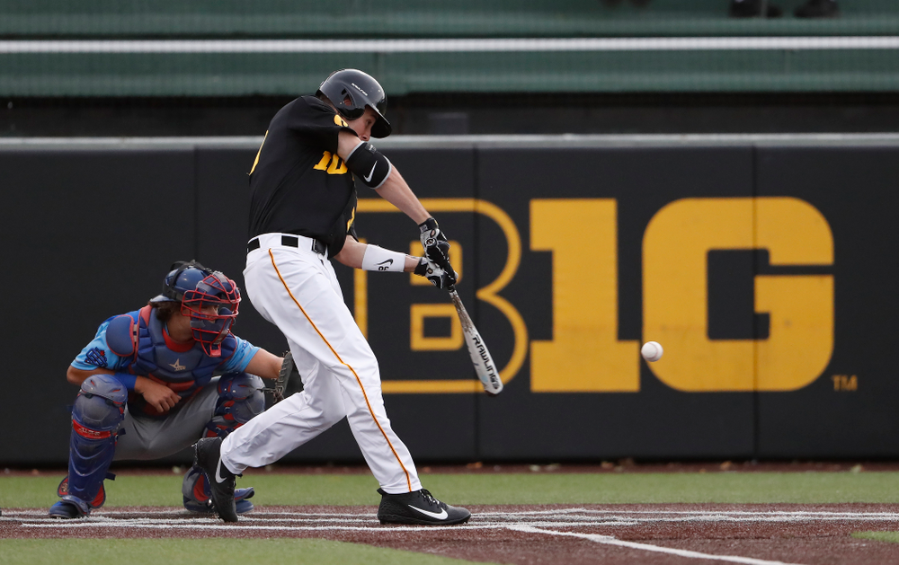 Grant Judkins against the Ontario Blue Jays Friday, September 21, 2018 at Duane Banks Field. (Brian Ray/hawkeyesports.com)