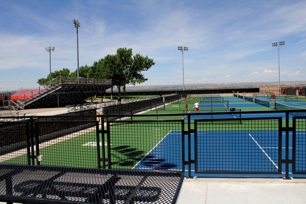 Stevens: McKinnon Family Tennis Stadium Is Open