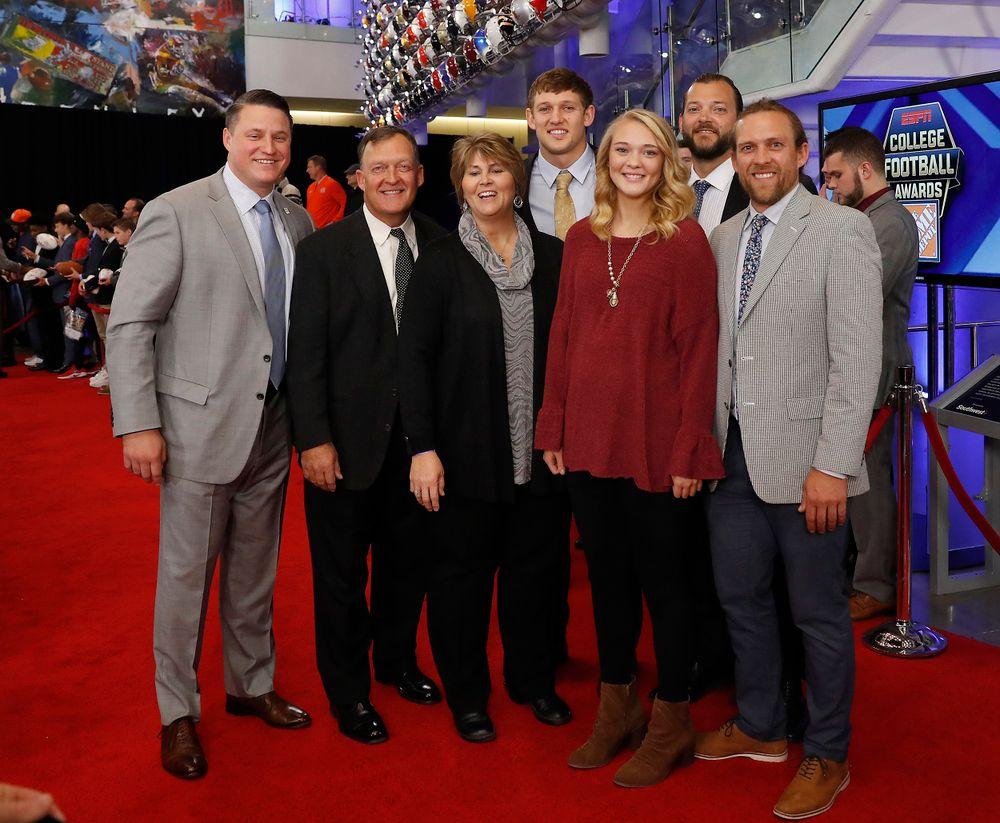 Brian Ferentz joins the Hockenson family