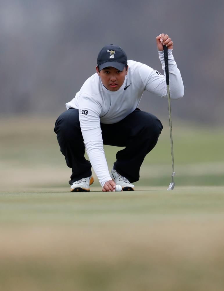 Ryoto Furuya during the 2018 Hawkeye Invitational  Friday, April 13, 2018 at Finkbine Golf Course. (Brian Ray/hawkeyesports.com)