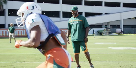Spring Ball 2017 | Canes Football | Ron Dugans Mic'd Up