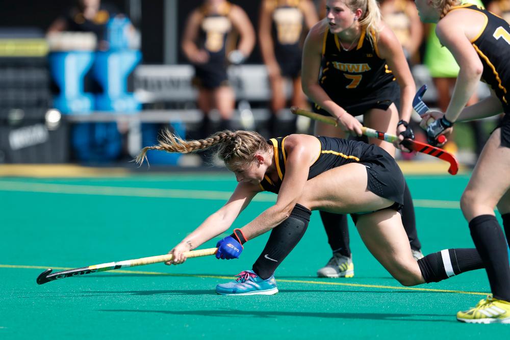 Iowa Hawkeyes Katie Birch (11) against Dartmouth Friday, August 31, 2018 at Grant Field.  (Brian Ray/hawkeyesports.com)