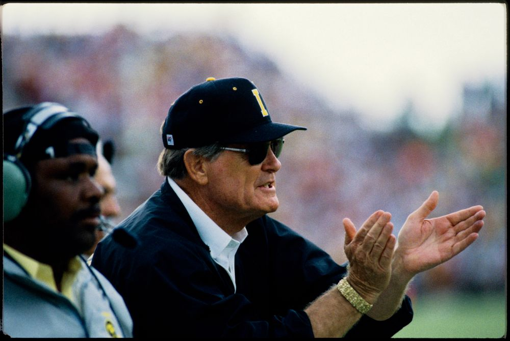 Historic Photos of Hayden Fry