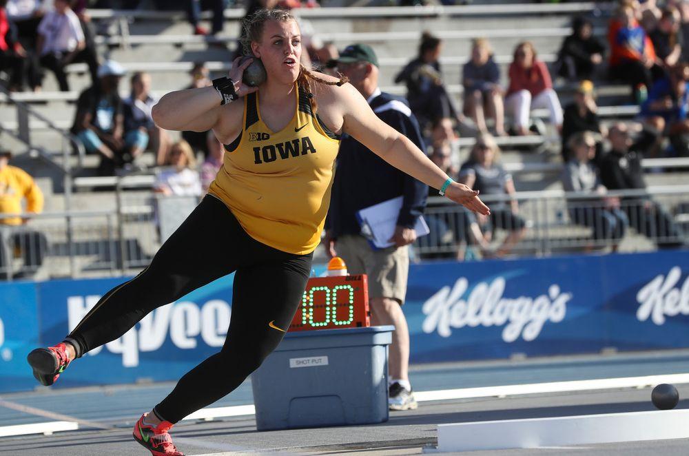 Iowa's Erika Hammond