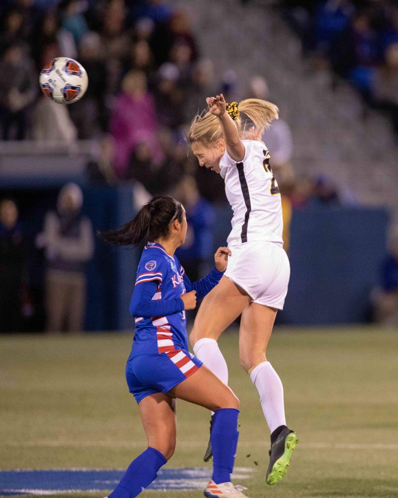 Hailey Rydberg NCAA Tournament Iowa at Kansas Nov. 16, 2019