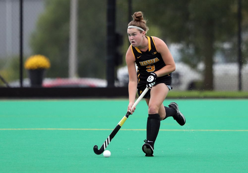 Iowa Hawkeyes Meghan Conroy (5) during a 2-1 victory against the Ohio State Buckeyes Friday, September 27, 2019 at Grant Field. (Brian Ray/hawkeyesports.com)