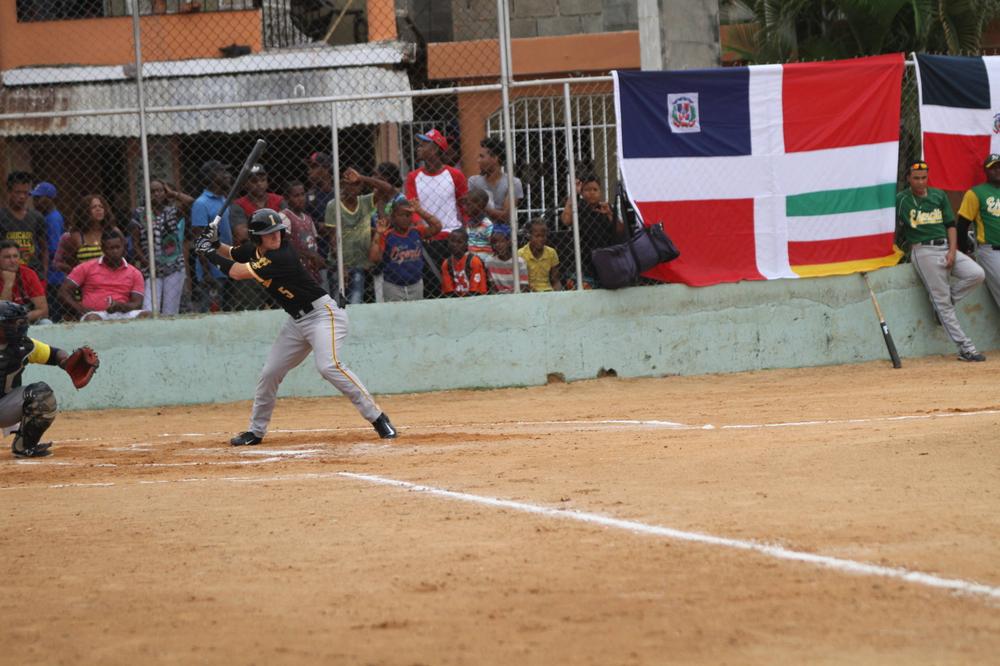 Tyler Cropley Iowa 9, Dominican Army National Team 4 Nov. 20, 2016 Photo: James Allan