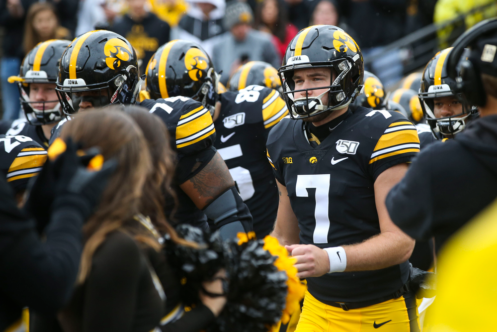 Iowa Hawkeyes during Iowa football vs Purdue on Saturday, October 19, 2019 at Kinnick Stadium. (Lily Smith/hawkeyesports.com)
