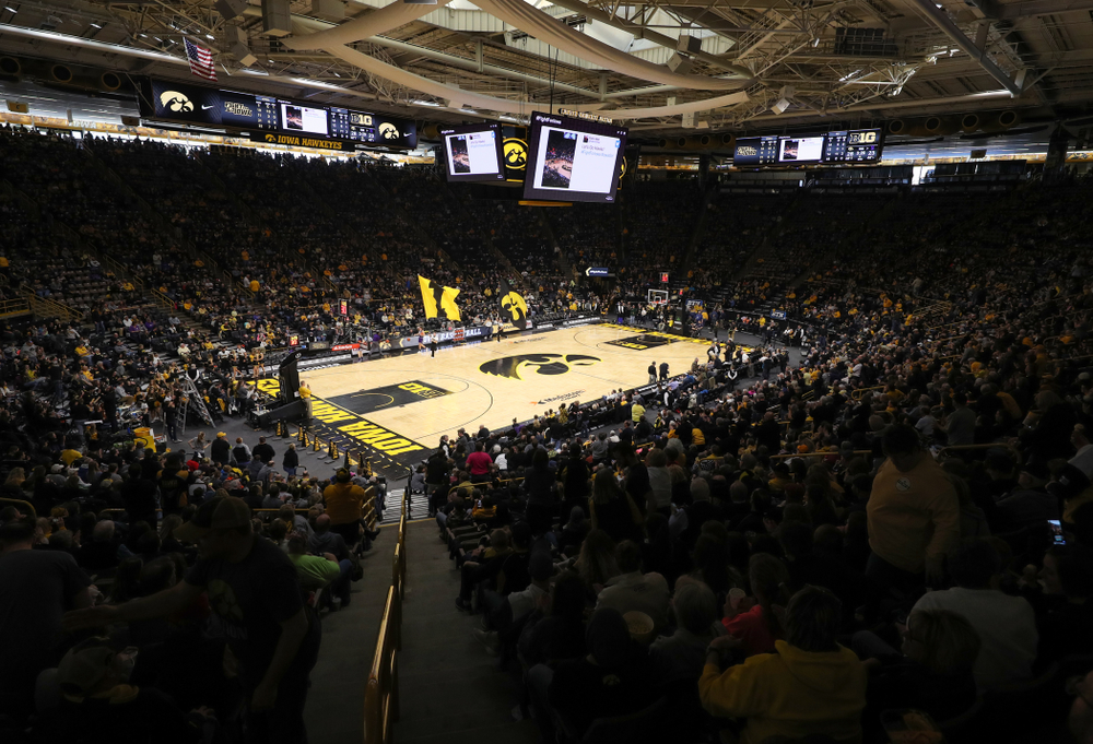 The Iowa Hawkeyes take on the Northwestern Wildcats Sunday, March 3, 2019 at Carver-Hawkeye Arena. (Brian Ray/hawkeyesports.com)