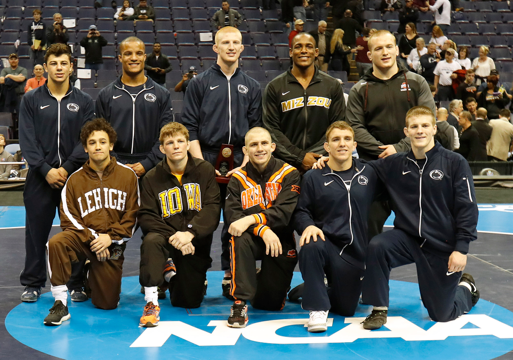 All 10 weight class champions