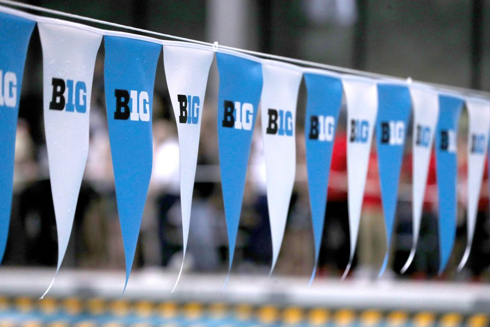 Iowa's Michael Tenney competes in the 200-yard butterfly during the 2019 Big Ten Men's Swimming and Diving Championships Saturday, March 2, 2019 at the Campus Wellness and Recreation Center. (Brian Ray/hawkeyesports.com)