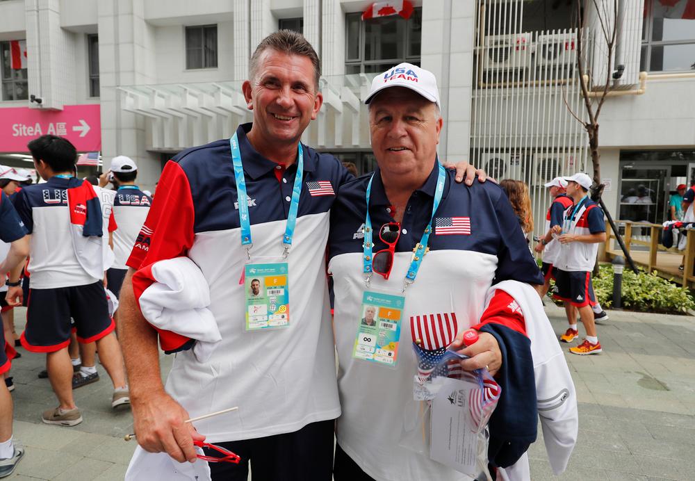 Rick Heller and liaison Scott Johnson
