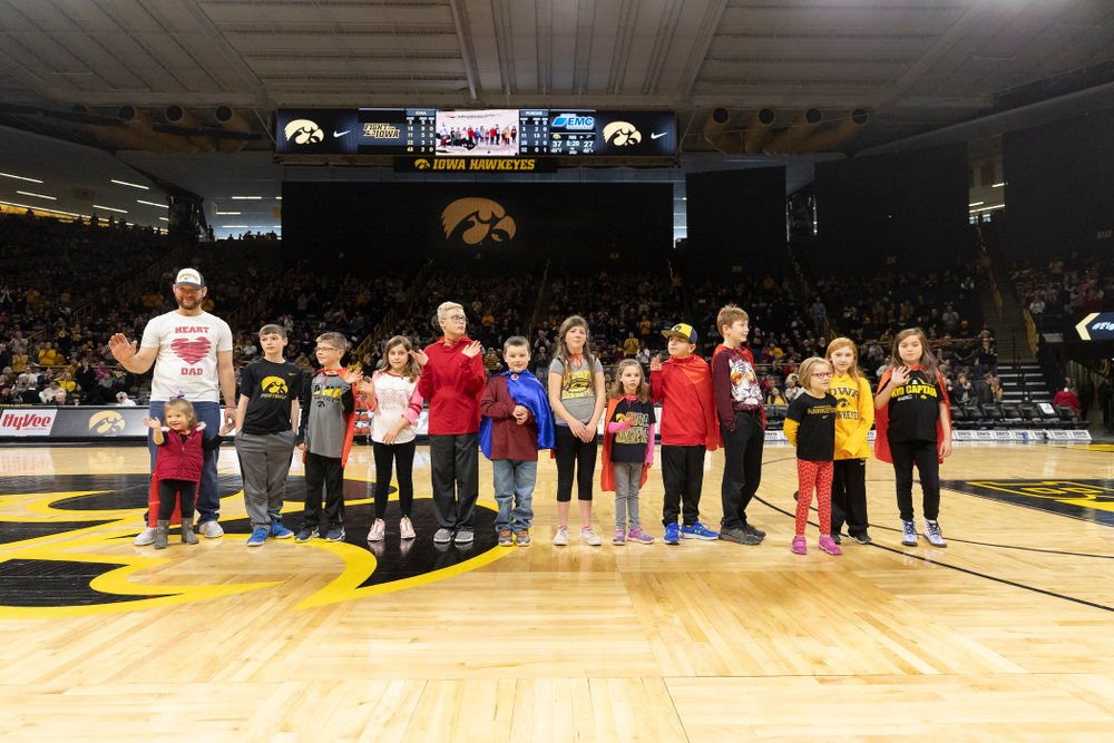 Go Red For Women Day against the Purdue Boilermakers Sunday, January 27, 2019 at Carver-Hawkeye Arena. (Brian Ray/hawkeyesports.com)
