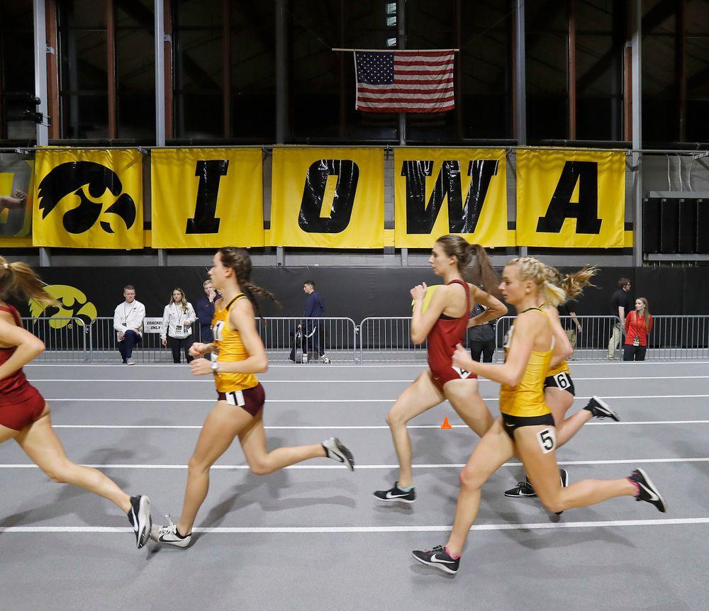 -- Larry Wieczorek Invitational on Jan. 19, 2019, at the University of Iowa Recreation Building in Iowa City, Iowa. (Darren Miller/hawkeyesports.com)