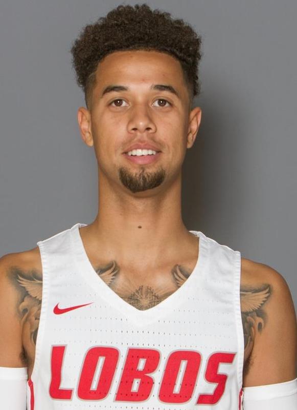 Anthony Mathis - Men's Basketball - University of New Mexico Lobos Athletics