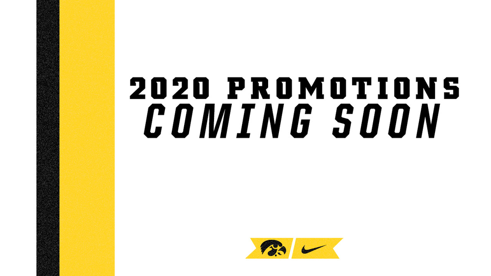 2020 PROMOTIONS COMING SOON