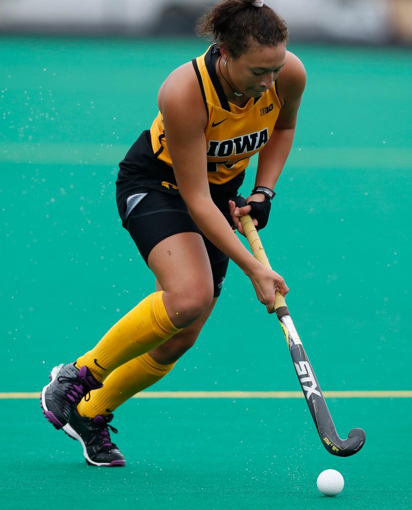 Iowa Hawkeyes Mya Christopher (18) against Maryland Sunday, October 14, 2018 at Grant Field. (Brian Ray/hawkeyesports.com)