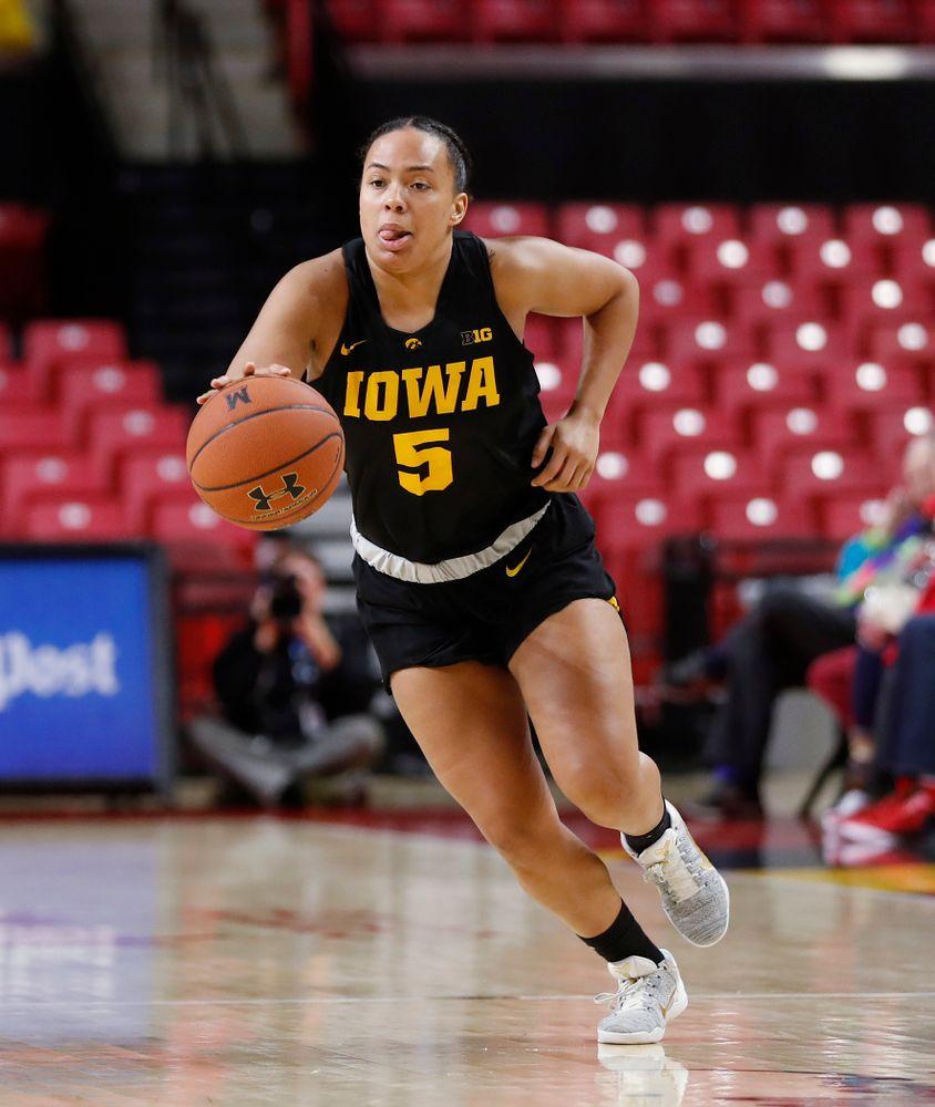 Iowa Hawkeyes guard Alexis Sevillian (5)