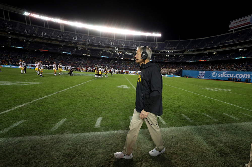 against USC in the Holiday Bowl Friday, December 27, 2019 at San Diego Community Credit Union Stadium.  (Brian Ray/hawkeyesports.com)