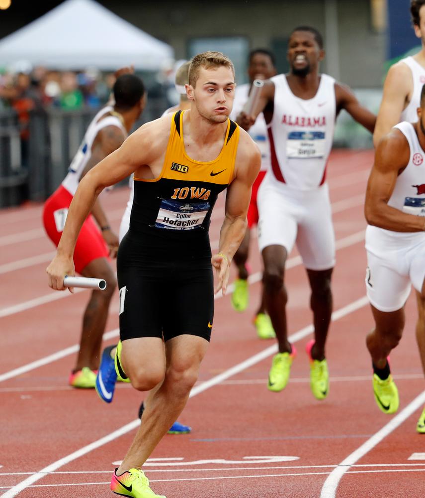 Collin Hofacker-- 4x400 relay