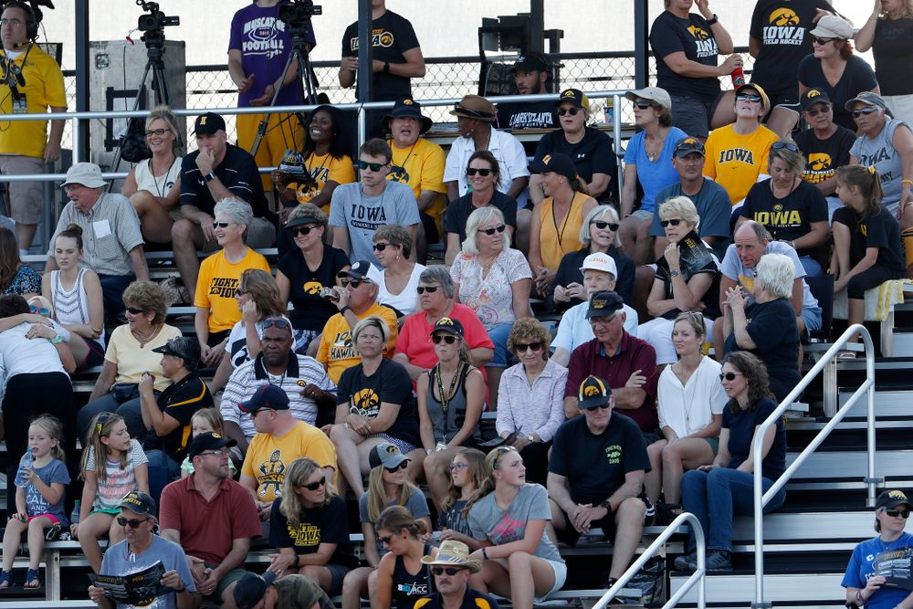 Fans of the Iowa Hawkeyes against the Penn Quakers Friday, September 14, 2018 at Grant Field. (Brian Ray/hawkeyesports.com)