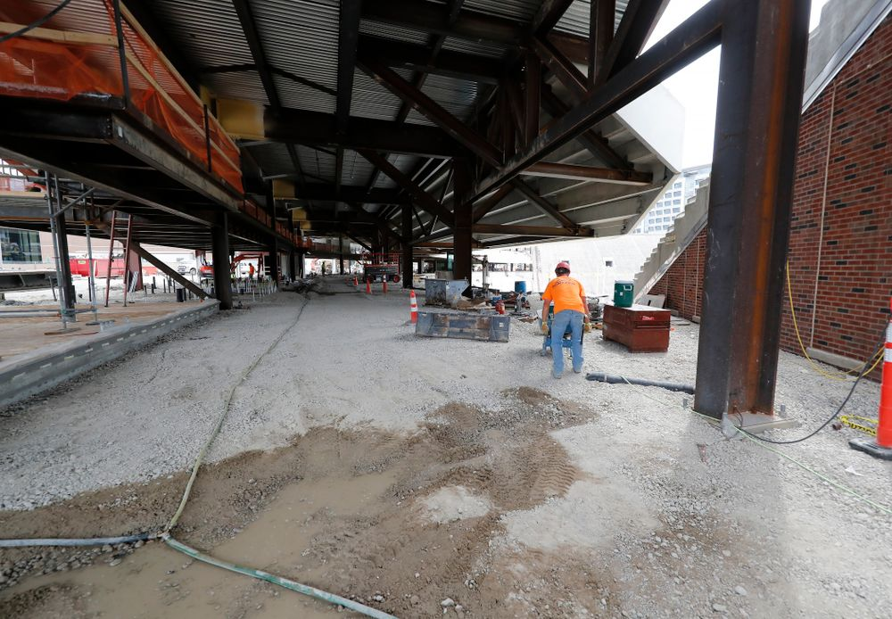 The view looking east of the main concourse of the north end zone Wednesday, June 6, 2018 at Kinnick Stadium. (Brian Ray/hawkeyesports.com)