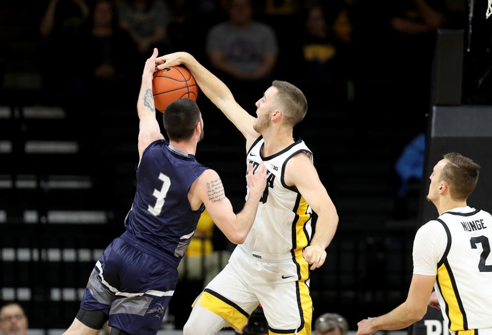 Iowa Hawkeyes guard Connor McCaffery (30) against North Florida Thursday, November 21, 2019 at Carver-Hawkeye Arena. (Brian Ray/hawkeyesports.com)