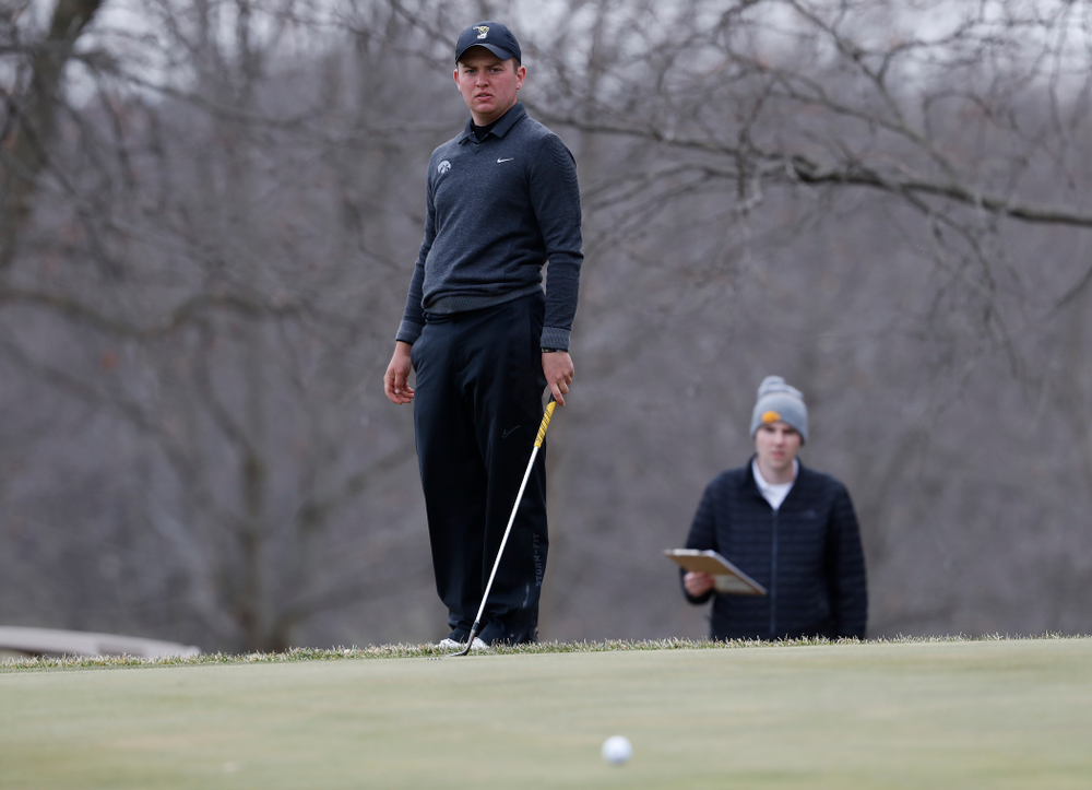 Matthew Walker during the 2018 Hawkeye Invitational  Friday, April 13, 2018 at Finkbine Golf Course. (Brian Ray/hawkeyesports.com)