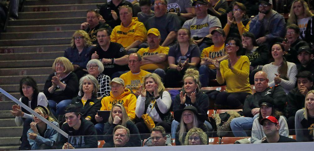 Hawkeye cheering section
