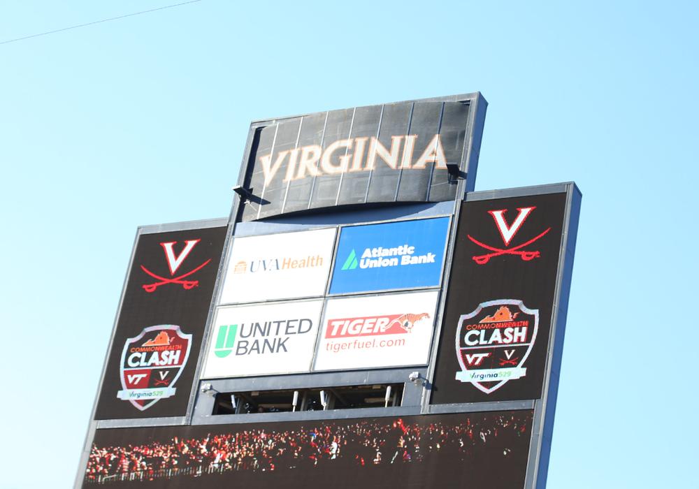 Virginia vs. Virginia Tech. UVA wins the ACC Coastal and Commonwealth Cup!