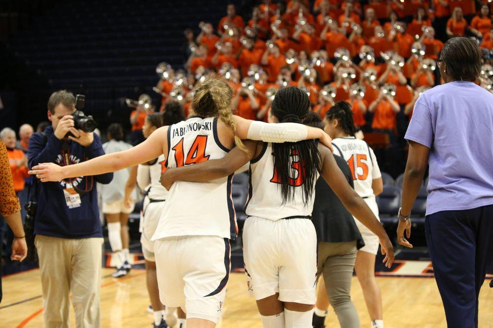 Women's Basketball beats Miami 69-64.