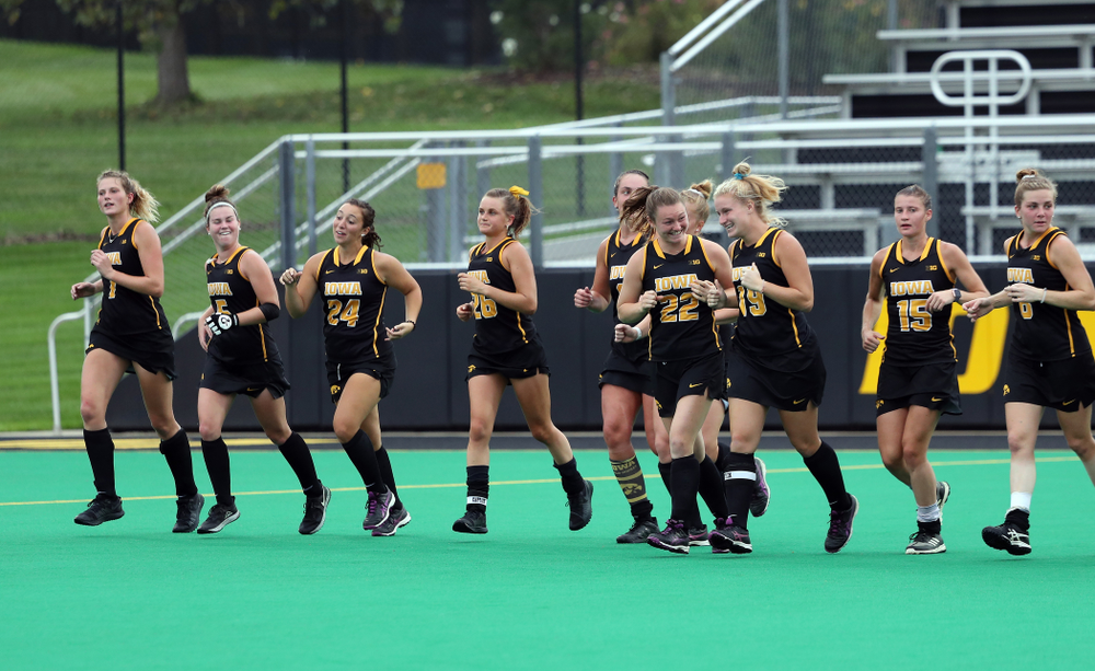 The Iowa Hawkeyes during a 2-1 victory against the Ohio State Buckeyes Friday, September 27, 2019 at Grant Field. (Brian Ray/hawkeyesports.com)