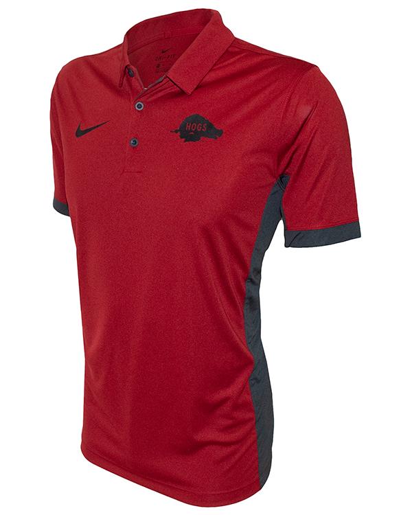 Arkansas Razorbacks Nike Running Hog Logo Dri Fit Polo Arkansas Razorbacks Store Shop University Of Arkansas Apparel Gear Gifts Clothing