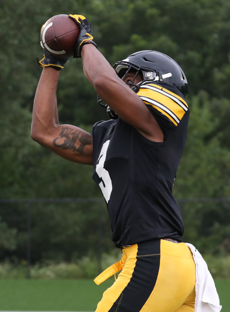 Iowa Hawkeyes wide receiver Tyrone Tracy Jr. (3)