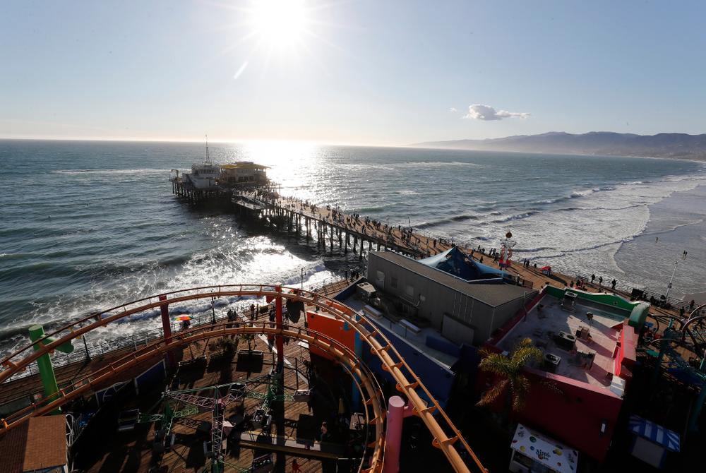 Pacific Park on the Santa Monica Pier Thursday, March 15, 2018 in Santa Monica. (Brian Ray/hawkeyesports.com)