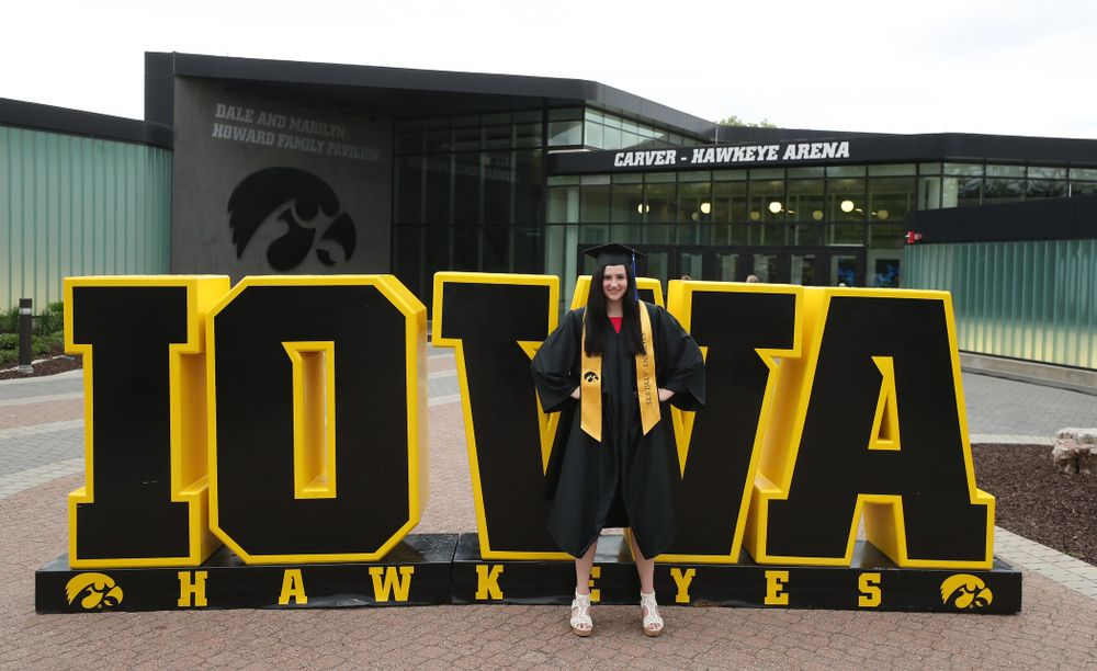 during the Tippie College of Business spring commencement Saturday, May 11, 2019 at Carver-Hawkeye Arena. (Brian Ray/hawkeyesports.com)