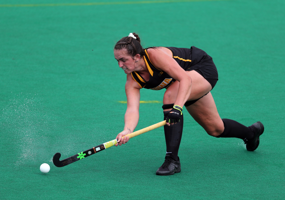 Iowa Hawkeyes defenseman Anthe Nijziel (6) against the Duke Blue Devils Sunday, September 15, 2019 at Grant Field.  (Brian Ray/hawkeyesports.com)