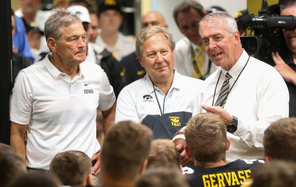 Iowa Hawkeyes Director of Athletics Gary Barta