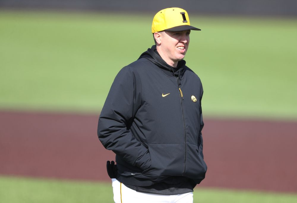 Volunteer Assistant Pitching Coach Tom Gorzelanny against California State Northridge Sunday, March 17, 2019 at Duane Banks Field. (Brian Ray/hawkeyesports.com)