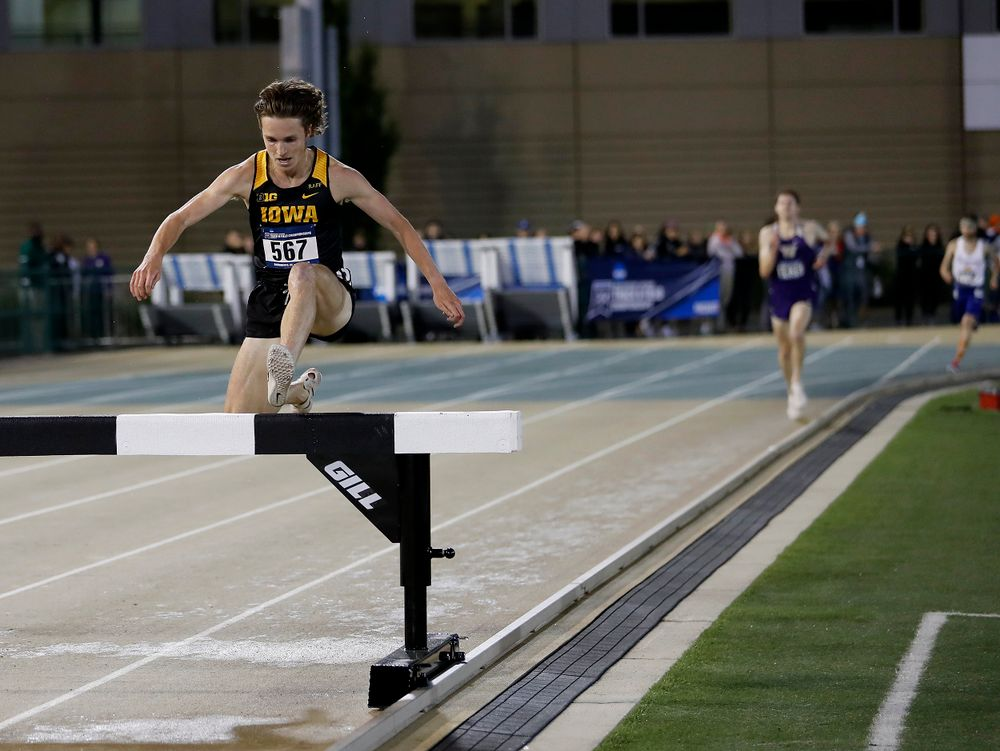 Nathan Mylenek clears the final barrier