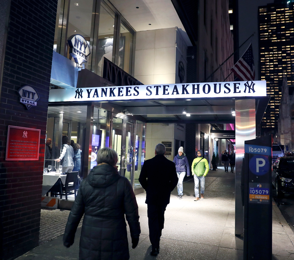 President's Welcome Reception at Yankees Steakhouse
